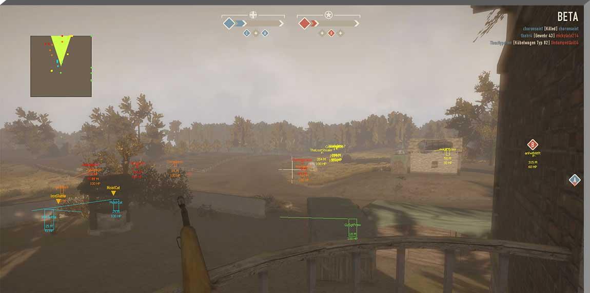 heroes and generals hack screenshot