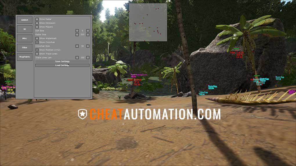 ARK Survival Evolved Aimbot & ESP Cheat | ARK Hack Download