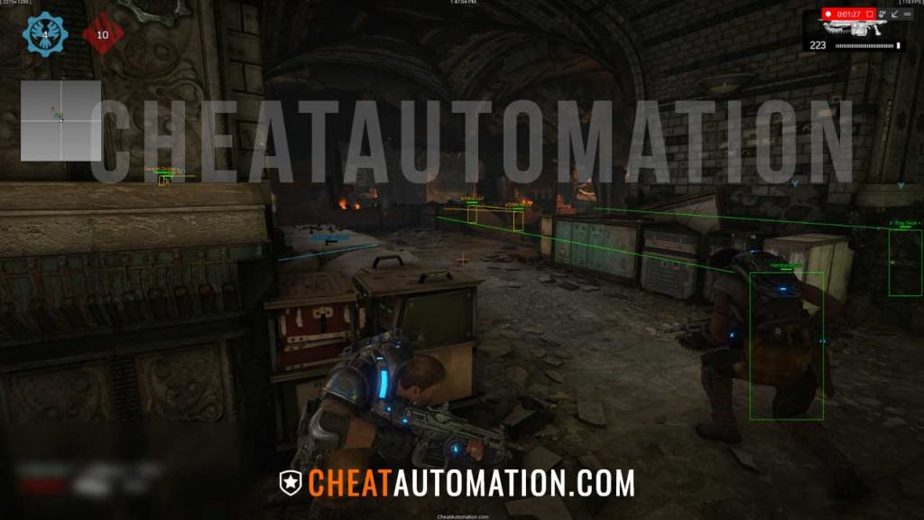 Gears of War 4 Hack, Aimbot, ESP and GoW4 Cheat Download