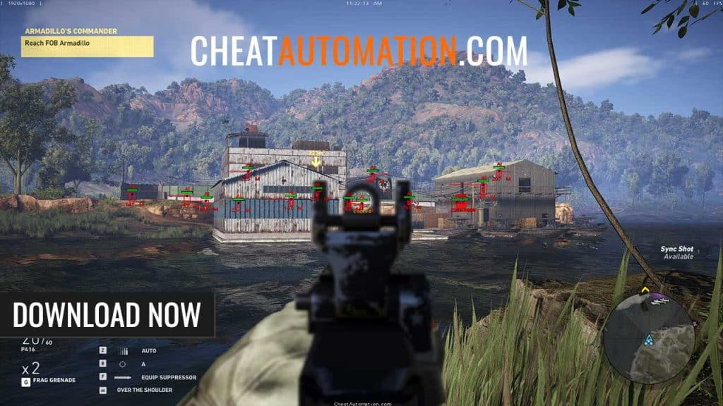 Ghost Recon Wildlands Hack, Aimbot, and ESP Cheat Download