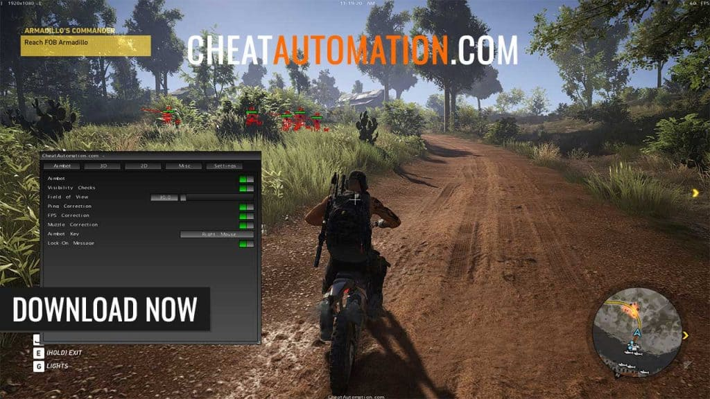 Ghost Recon Wildlands Hack, Aimbot, and ESP Cheat Download