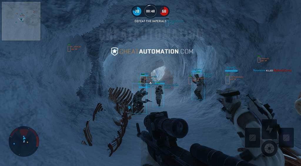 star wars battlefront 2 multiplayer aimbot