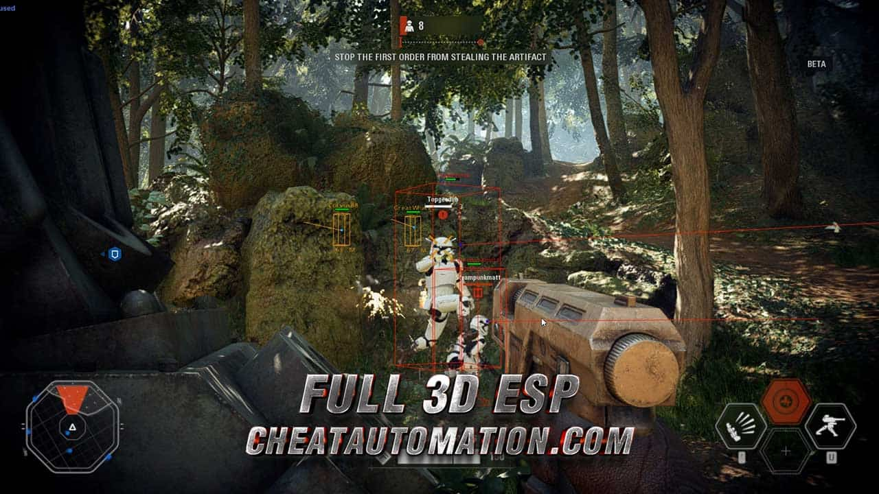 Star Wars Battlefront 2 Cheat Screenshot